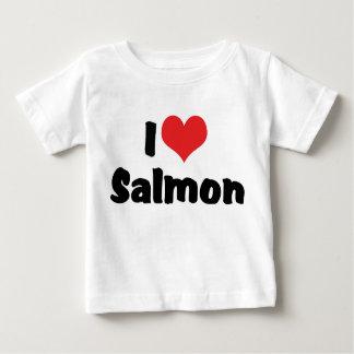 I Love Salmon Tee Shirt