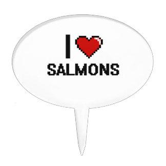 I love Salmons Digital Design Cake Toppers