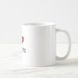 I Love Saloons Coffee Mug