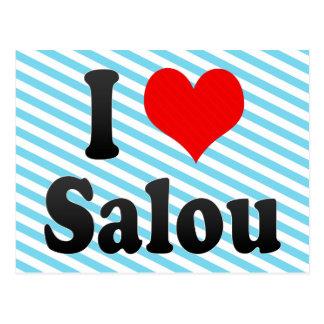I Love Salou, Spain. Me Encanta Salou, Spain Postcard