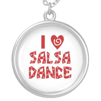 I Love Salsa Dance Custom Jewelry