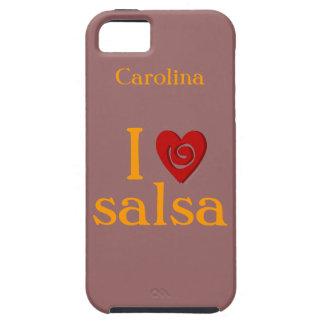 I Love Salsa Dance Custom Name iphone 5g Case