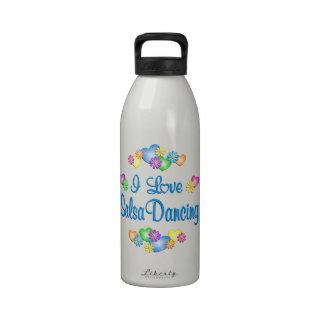 I Love Salsa Dancing Drinking Bottles