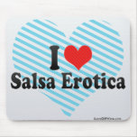 I Love Salsa Erotica Mouse Pad