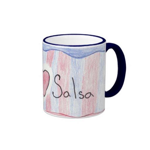 """""""I Love Salsa"""" Mug"""