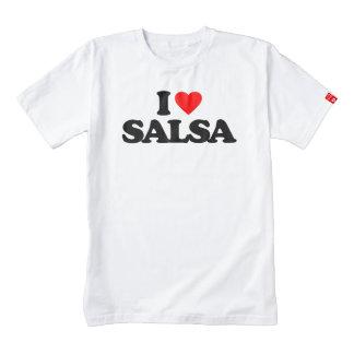 I LOVE SALSA ZAZZLE HEART T-Shirt
