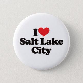 I Love Salt Lake City Button