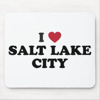 I Love Salt Lake City Utah Mouse Pad