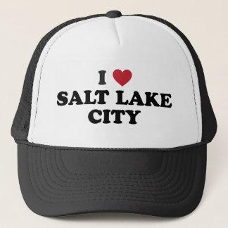 I Love Salt Lake City Utah Trucker Hat
