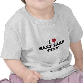 I Love Salt Lake City Utah Tee Shirts
