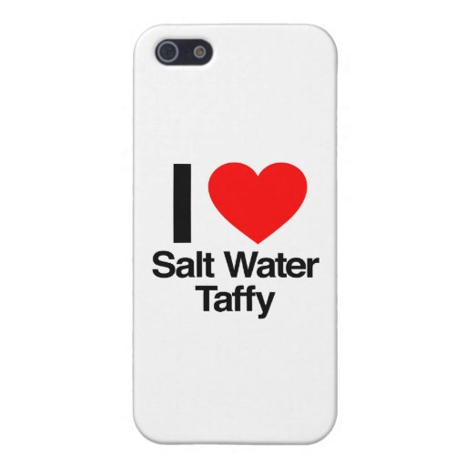 i love salt water taffy iPhone 5 cover