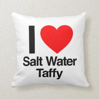 i love salt water taffy pillow