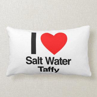 i love salt water taffy pillows