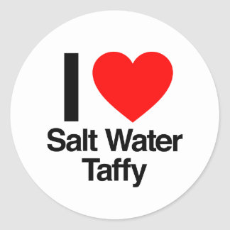 i love salt water taffy sticker