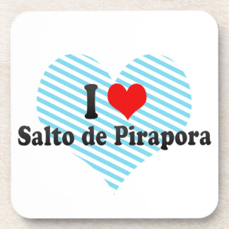 I Love Salto de Pirapora, el Brasil Posavasos De Bebida