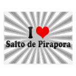 I Love Salto de Pirapora, el Brasil Tarjeta Postal