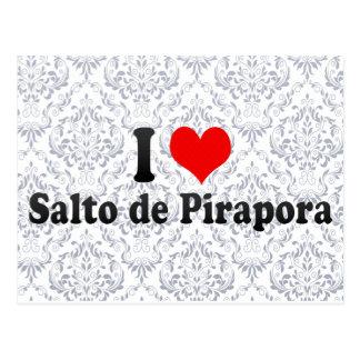I Love Salto de Pirapora, el Brasil Tarjetas Postales