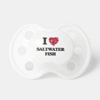 I love Saltwater Fish BooginHead Pacifier