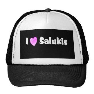 I Love Salukis Trucker Hat