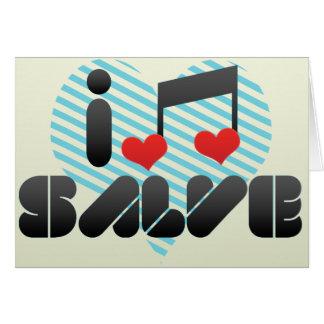 I Love Salve Card