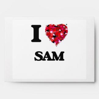 I Love Sam Envelopes