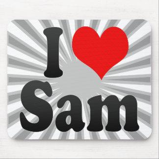 I love Sam Mousepads