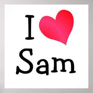 I Love Sam Poster