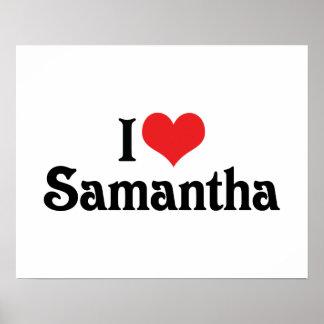 I Love Samantha Poster