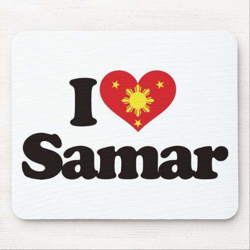 I Love Samar Mousepads