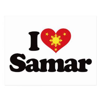 I Love Samar Postcard