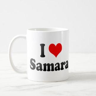 I Love Samara, Russia. Ya Lyublyu Samara, Russia Coffee Mugs
