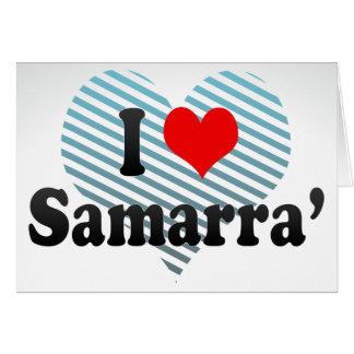 I Love Samarra', Iraq Cards