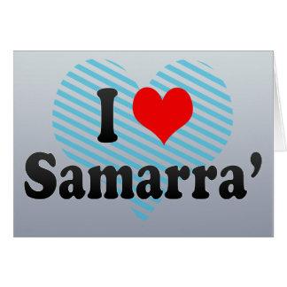 I Love Samarra', Iraq Greeting Cards