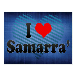 I Love Samarra', Iraq Post Card