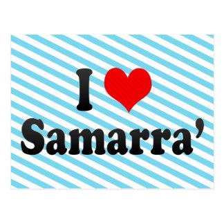 I Love Samarra', Iraq Postcard
