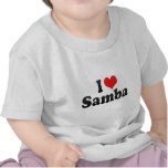 I Love Samba Tshirts