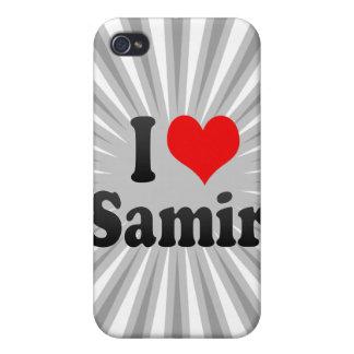 I love Samir iPhone 4 Covers