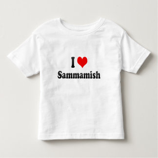 I Love Sammamish, United States Toddler T-shirt