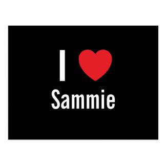 I love Sammie Post Cards