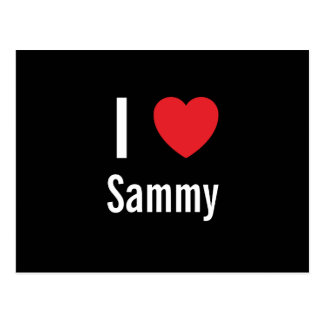 I love Sammy Post Cards