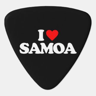 I LOVE SAMOA GUITAR PICK