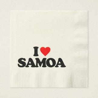 I LOVE SAMOA NAPKIN