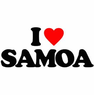 I LOVE SAMOA PHOTO CUT OUTS