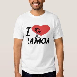 I Love Samoa Tee Shirt