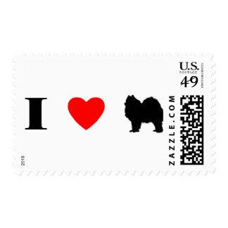 I Love Samoyeds Postage