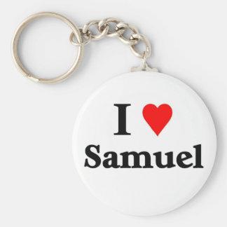 I love samuel keychain