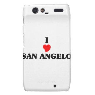 I love San Angelo Motorola Droid RAZR Covers