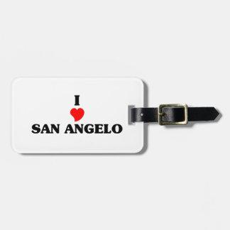I love San Angelo Bag Tag