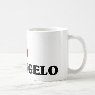 I love San Angelo Classic White Coffee Mug