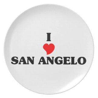 I love San Angelo Plate